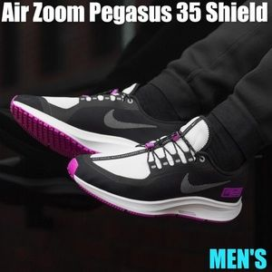 NIKE AIR ZOOM PEGASUS 35 SHIELD WET FLY